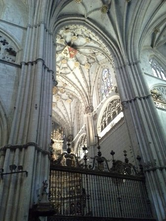 Catedral de San Antolin: breathtaking ceiling
