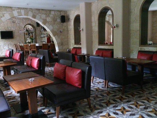 Ayii Anargyri Natural Healing Spa: The bar, part of the original monastery