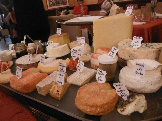 La Table d'Emilie: Amazing cheese choices