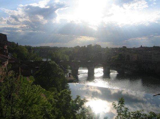 Hotel Les Pasteliers : el río (Le Tarn)