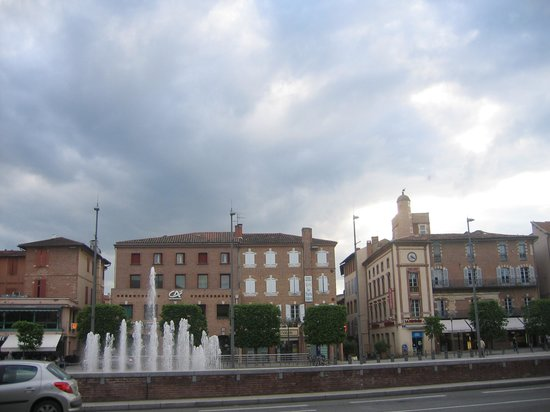 Hotel Les Pasteliers : una fuente