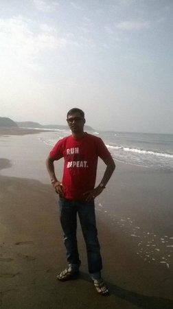 Bhatye Beach : Myself