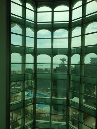 Smeraldo Suites & Spa: Vista dall'ascensore panoramico