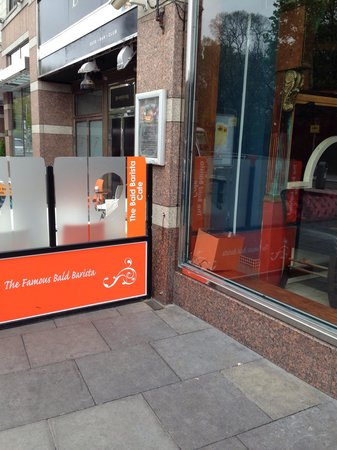 The Bald Barista: The 'new' take out branch