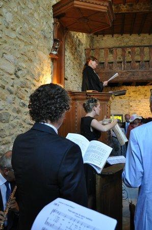 Musée du Protestantisme Dauphinois: The preaching