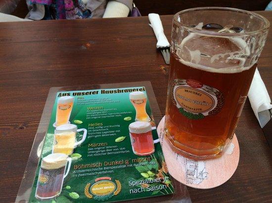 Salm Bräu: Пиво