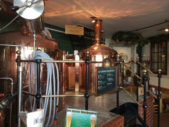 Salm Bräu: Пивоварня