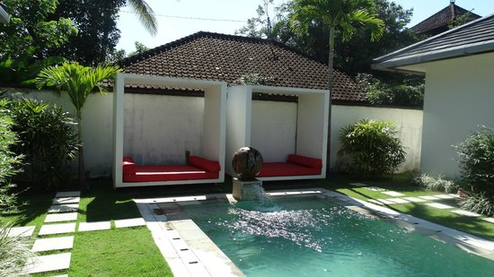 Rouge Bali - Villas & Spa: piscine