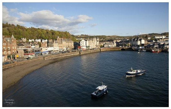 Columba Hotel: View from one of our many windows