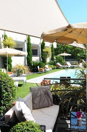 Restaurant Le 860 : Le patio.