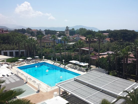 Mec Paestum Hotel: Vista dalla camera piscina