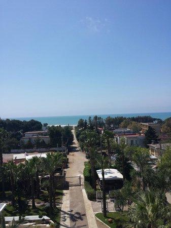 Mec Paestum Hotel: Vista dalla camera