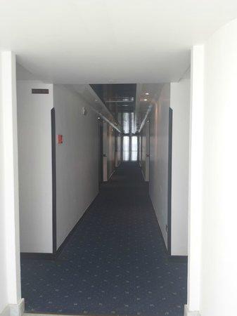 Mec Paestum Hotel: Corridoio