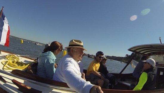 Les Pinasses du Bassin d'Arcachon  Tours : Promenade Pinasse Bassin d´Arcachon 16 avril 2014