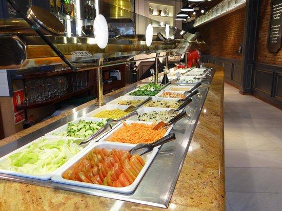Restaurante La Vaca Paca: buffet