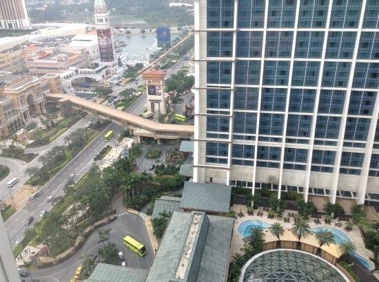 Sheraton Grand Macao Hotel, Cotai Central : cotai view