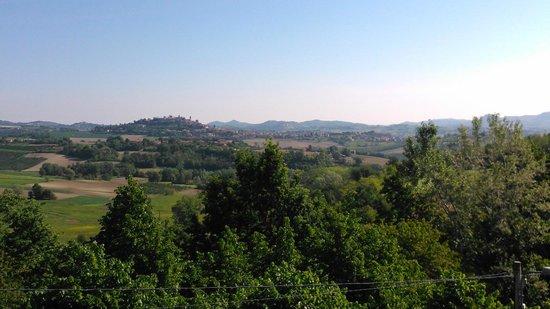 EnoAgriturismo di Charme L'Acino d'Uva : vista dalla terrazza panoramica comune