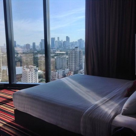 The Continent Hotel Bangkok by Compass Hospitality : Amazing views!