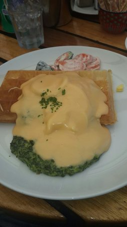 The Waffle House: Legendary waffles!