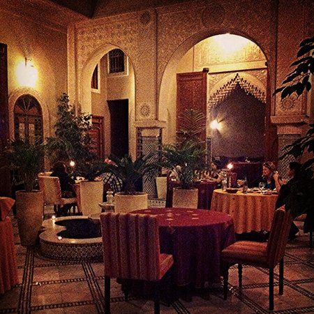 Riad Andalib: The restaurant/main area