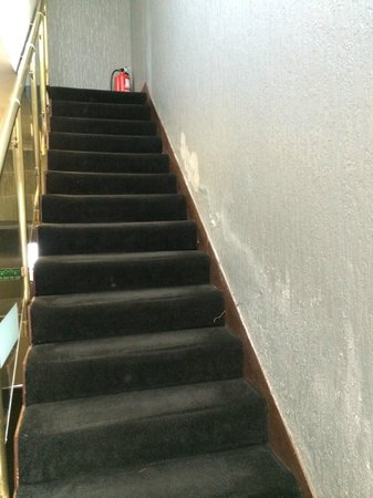 Brisbane House Hotel : Stairway to hell
