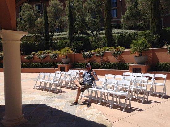 The Westin Lake Las Vegas Resort & Spa: Wedding gardens
