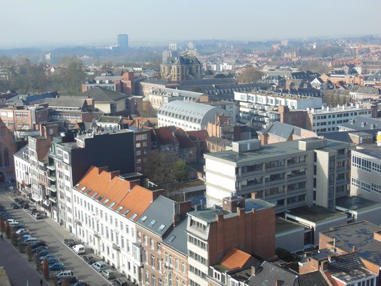 Louvain, Belgique : view from the balcony