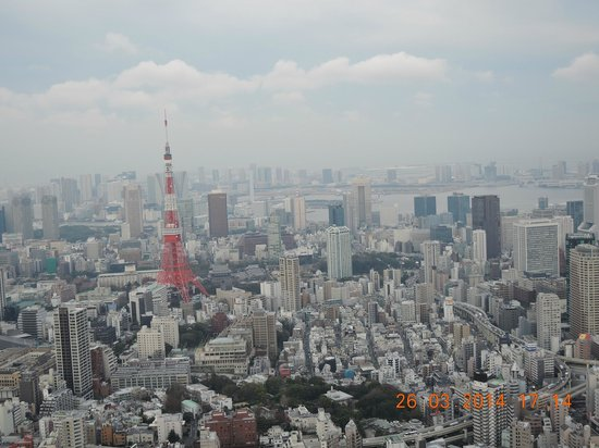 Tokyo City View Observation Deck (Roppongihills) : panorama