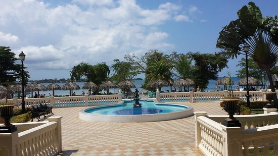Hotel Riu Negril : View from main lobby