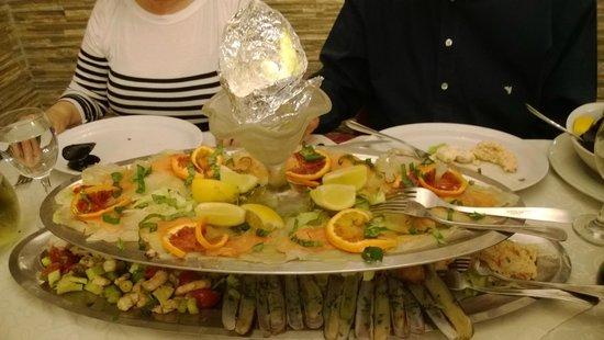 Sempione: mix di pesce fresco