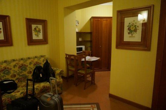 Residenza d'Aragona: 二部屋あります