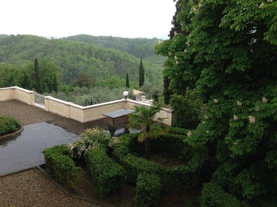 Villa la Borghetta Spa Resort: Vista dalla Camera