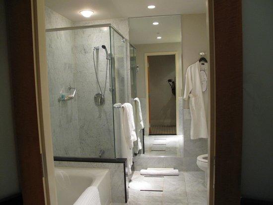 Sofitel Montréal Le Carré Doré : Shower of the room