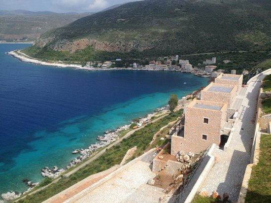 Limeni Village Hotel: the view from Limeni village