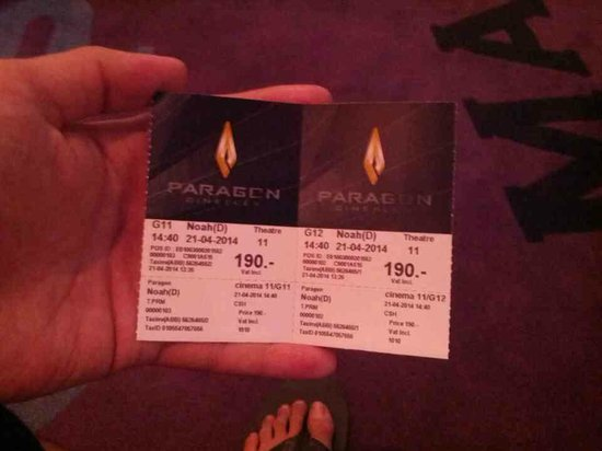 Paragon Cineplex: Tiket Bioskop