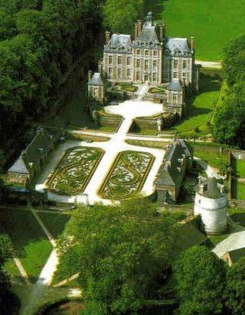 Chateau de Balleroy: Photo aérienne du Château de Balleroy