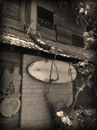 Ranga's Beach Hut: old school style....