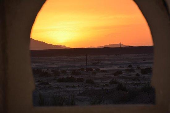 Kasbah Le : maravillosa puesta de sol
