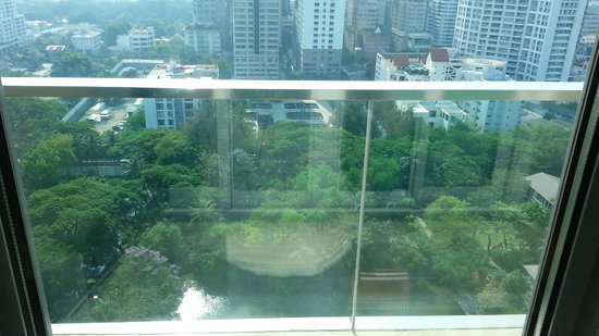 Oriental Residence Bangkok: The park view