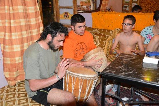 Kasbah Le Touareg: nuestros niños se animaron