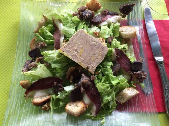 Ferme du Touron: La salade campagne