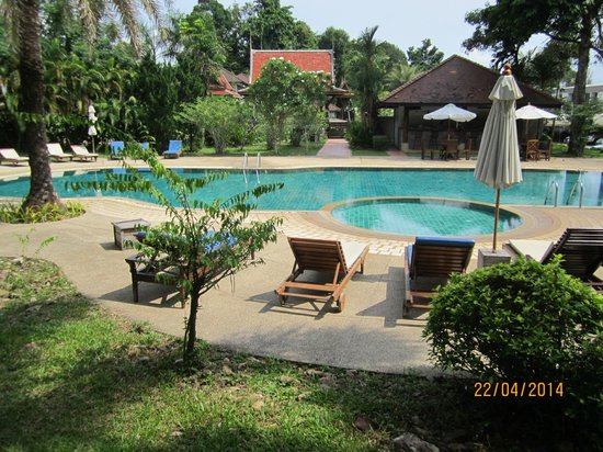 Chang Buri Resort and Spa: View from room