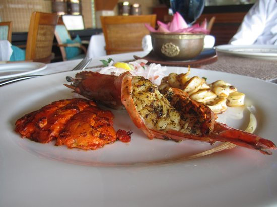 Taj Malabar Resort & Spa Cochin: Seafood platter at The Rice Boat