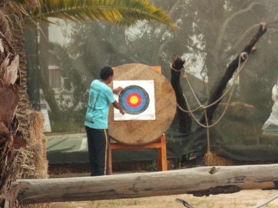 Hotel Marhaba: archery