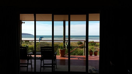 Adagio Bed & Breakfast: View from the deck