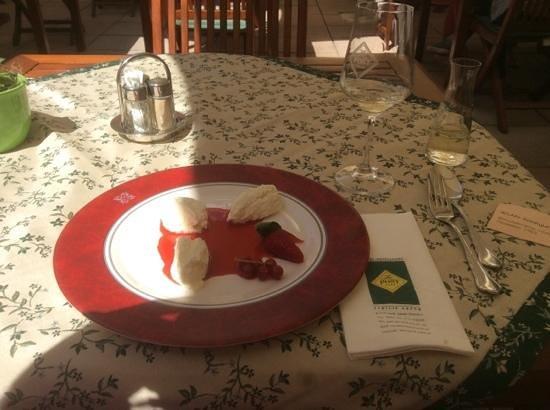 Hotel Restaurant zur Post: Nachspeise