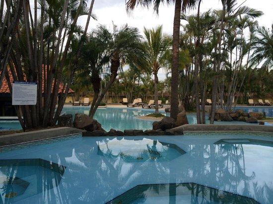 Wyndham San Jose Herradura Hotel & Convention Center: Вид из ресторана