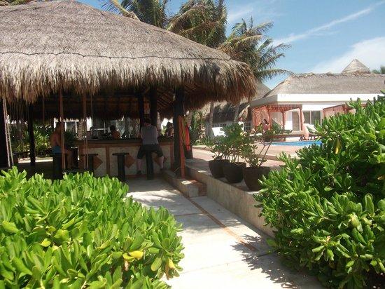 El Dorado Sensimar Riviera Maya: Eine der schönen Poolbars
