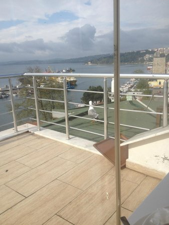 Sinopark Hotel: Kahvaltı yerinin manzarası 2