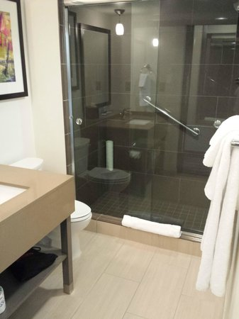 HYATT house Atlanta/Cobb Galleria: Nice bathroom